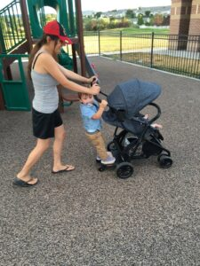 Evenflo Sibby Travel System and the Ride-Along Board