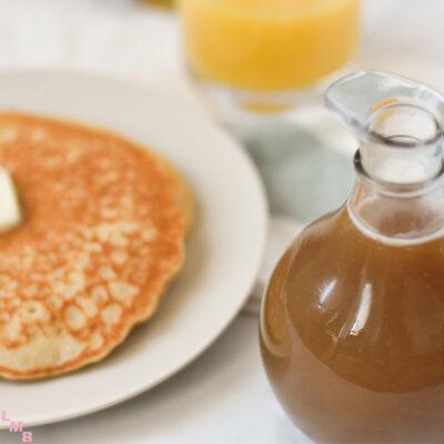 caramel pancake syrup